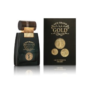 New Brand Prestige Gold For Perfume Masculino Eau de Toilette 100ml