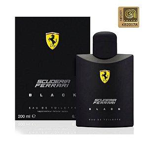 Ferrari Scuderia Black Perfume Masculino Eau de Toilette 200ml