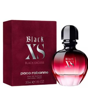Paco Rabanne Black Xs Perfume Feminino Eau de Toilette 30ml