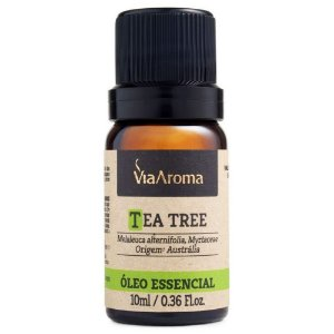 Via Aroma Óleo Essencial Tea Tree/Melaleuca 10ml