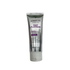 Ultimate Liss Fast Platinum Shampoo Matizador 80ml