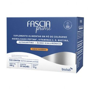 Biolab Fascia Prime Astaxantina + Hialurônico 30 Sachês