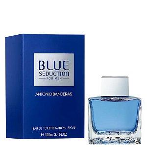Antonio Banderas Blue Seduction Perfume Masculino Eau De Toliette 100ml