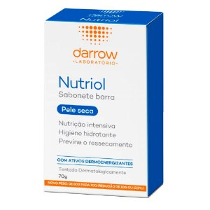 Darrow Nutriol Sabonete Barra 70g
