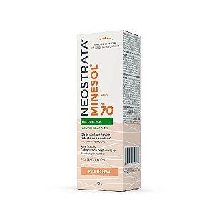 Neostrata Minesol Oil Control Protetor Solar Pele Morena FPS70 40g