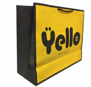Sacola Personalizada YELLO