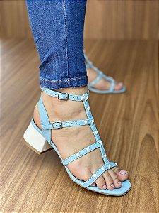 Sandália Spike Azul