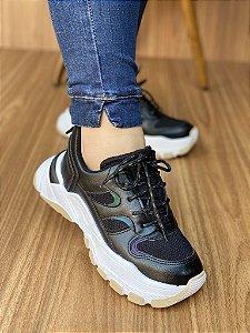 Tênis Sneaker Preto S5450