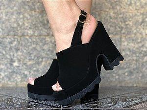 Ankle Boot Preta