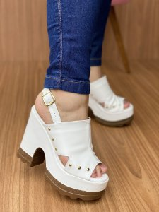 Ankle Boot Branca
