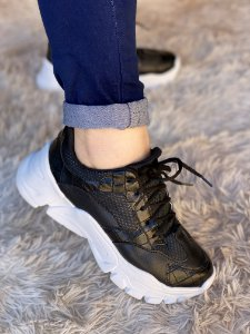 Tênis Sneaker Preto