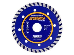 Disco Diamantado Turbo 110x20mm Heavy Duty