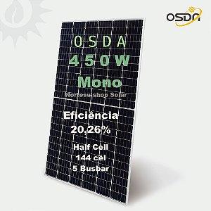 Pallet 31 Módulo / painel / placa Solar Fotovoltaica OSDA 450w Monocristalino Half Cell 20,26% eficiência
