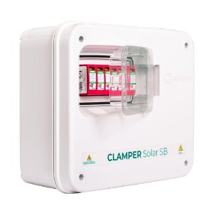 String Box 4e/2s Dps Disjuntor 1040v Clamper Solar Sb