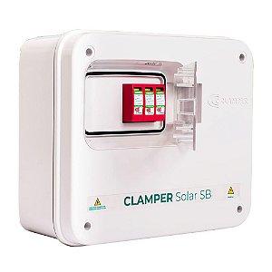 String Box 2e/1s Dps Disjuntor 1040v Clamper Solar Sb