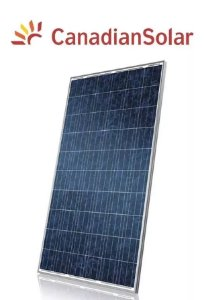 Módulo / painel / placa Solar Fotovoltaica 320w Canadian Policristalino