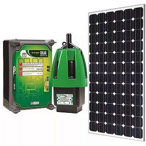 Kit Bomba Solar Anauger P100 - até 8600l/dia máx 40m altura Painel 330w + MC4 para Poço