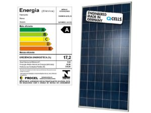 Módulo / painel / placa Solar Fotovoltaica 330w Qcells policristalino