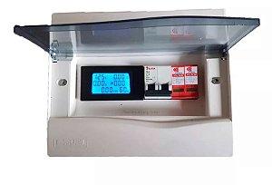 Kit String Box Solar Ca P/ Microinversor C/ Medidor 6 Em 1