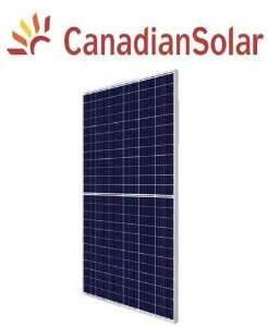 Módulo / painel / placa Solar Fotovoltaica 410w Canadian Policristalino