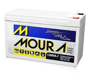 Bateria Estacionaria Moura No-break ENERGIA SOLAR 7ah 12v