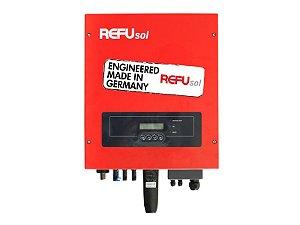 Inversor On Grid Tie 7.5kwp 7500w Refusol + Monitoramento wifi + tecnologia Alemã + 2MPPT 220V