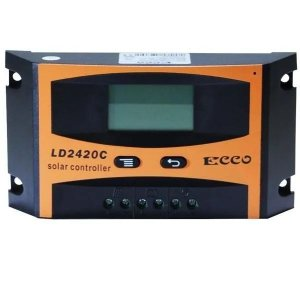 Controlador De Carga Solar 12v 24v Pwm 10A ECCO