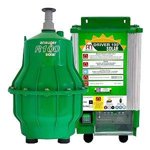 Bomba Solar Anauger R100 - até 8600L dia máx 40m altura + MC4 para Reservatório (Sem Painel Solar)