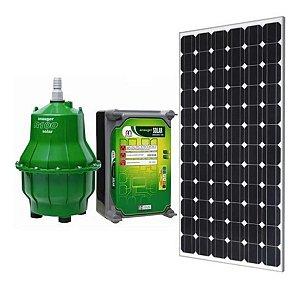 Kit Bomba Solar Anauger R100 - até 8600l/dia máx 40m altura Painel 330w + MC4 para Reservatório