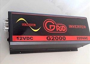 Inversor 2000w / 4000w 12v 220v Onda Senoidal Pura Grid 100% Nacional