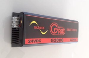 Inversor 2000w / 4000w 24v 220v Onda Senoidal Pura Grid 100% Nacional