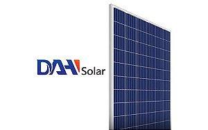 Módulo / painel / placa Solar Fotovoltaica 330w DAH SOLAR Policristalino