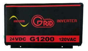 Inversor 1200w / 2400w 24v 120v Onda Senoidal Pura Grid 100% Nacional
