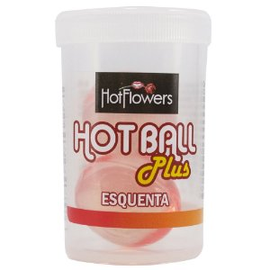 HOT BALL 2 UNIDADES  PLUS ESQUENTA  HOT FLOWERS