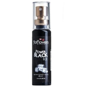 SPRAY BLACK POWER ICE 18ML