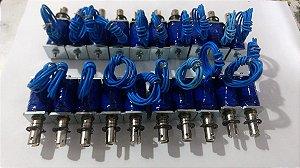 Solenoide 12v, e 24v Força De 2n - Curso Até 8mm