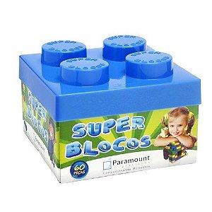 Brinquedo Infantil Educativo Lego Super Blocos 60 Peças