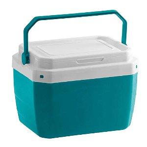 Caixa Térmica Cooler Portátil 6 Lts C/ Alça Verde Paramount