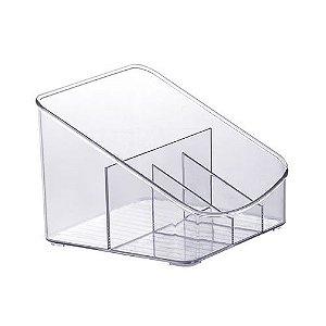 Organizador Diamond Quatro Divisórias 18x17x13 886 Paramount