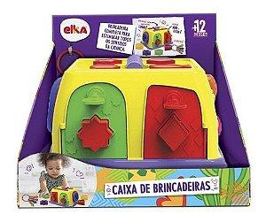 Caixa de Brincadeiras Formas Geométricas Infantil 1135 Elka