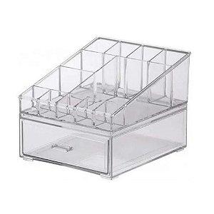 Kit Organizador Comésticos 18,5x16,5x14,5cm 1088 Paramount