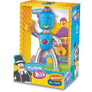 Boneco Robô Personagem Mundo Bita 20Cm 401 Lider