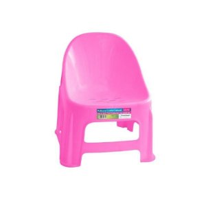 Cadeira Poltrona Infantil Educativa De Plástico Confort Rosa