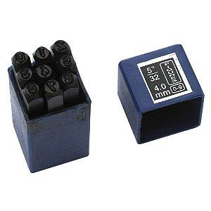 Algarismo De Bater Em Aço 2mm 9FR Eda