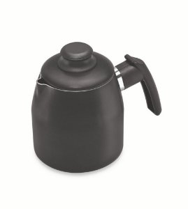 Bule 1 Litro Antiaderente - Preto - Dona Chefa
