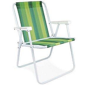 Cadeira Alta AÇO verde claro + verde escuro 2002/2222 MOR