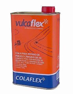 Cola Vulcanizante Para Camara De Ar E Pneu Cola Preta 900 Ml