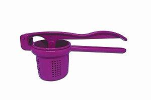 Espremedor De Batata Colors Rosa P/ Cozinha - Alumínio