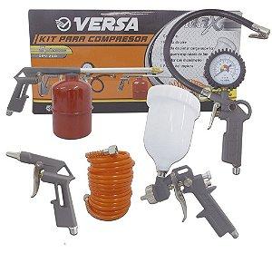 Kit para Compressor 5 Peças GPV-200 Versa - BLACK JACK