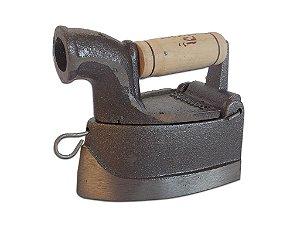 Mini Ferro Braseiro De Passar Roupa Em Ferro Fundido